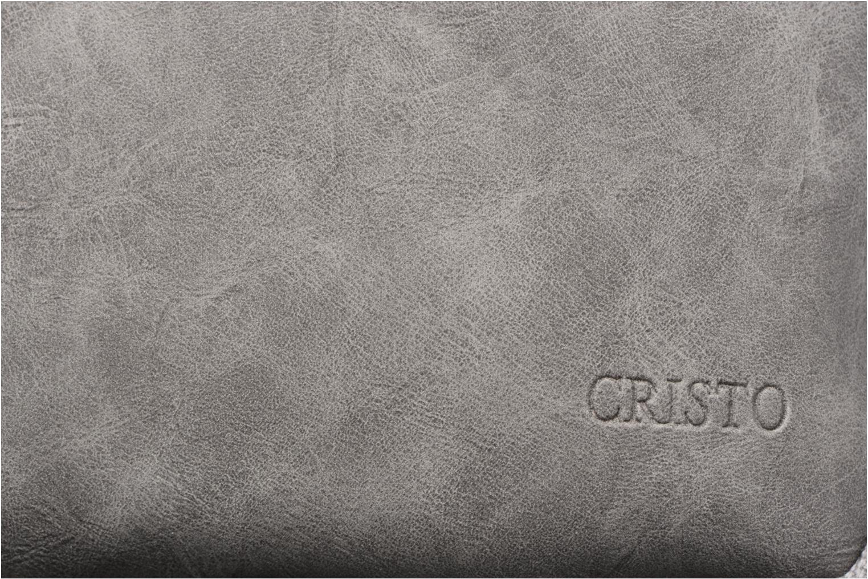 Business Cristo Sacoche 3 compartiments Grijs links