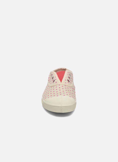 Baskets Bensimon Tennis Elly Minipois E Blanc vue portées chaussures