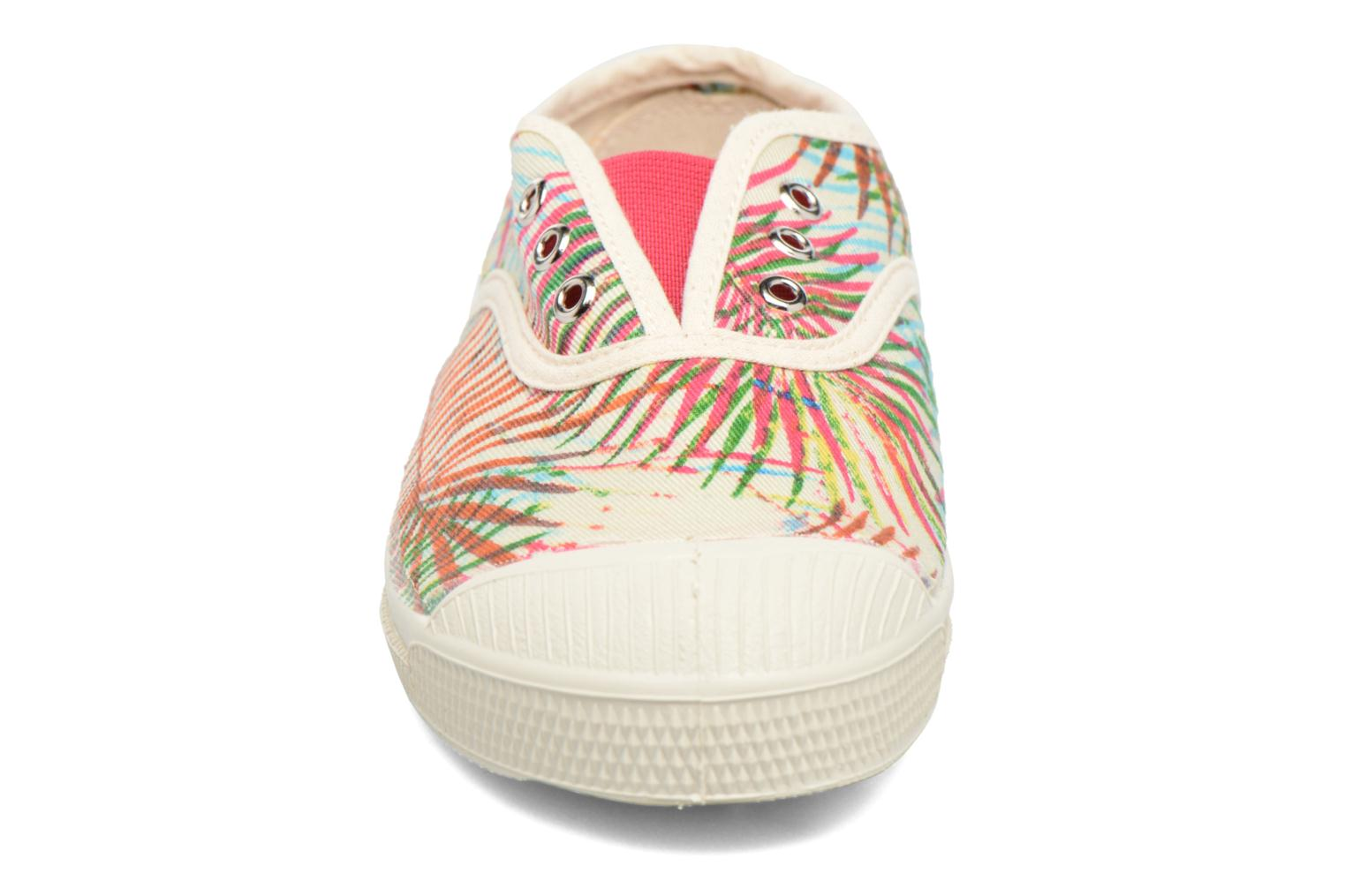 Sneakers Bensimon Tennis Elly Feuilles Exotiques E Multicolore modello indossato