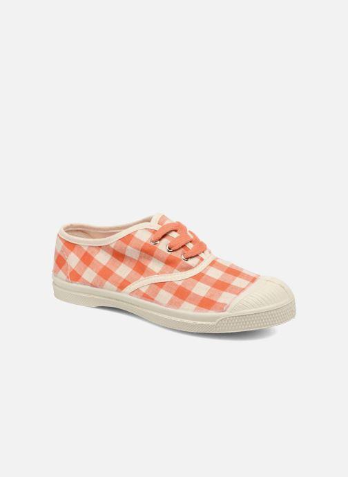 Sneakers Bensimon Tennis Lacets Vichy Lin E Arancione vedi dettaglio/paio