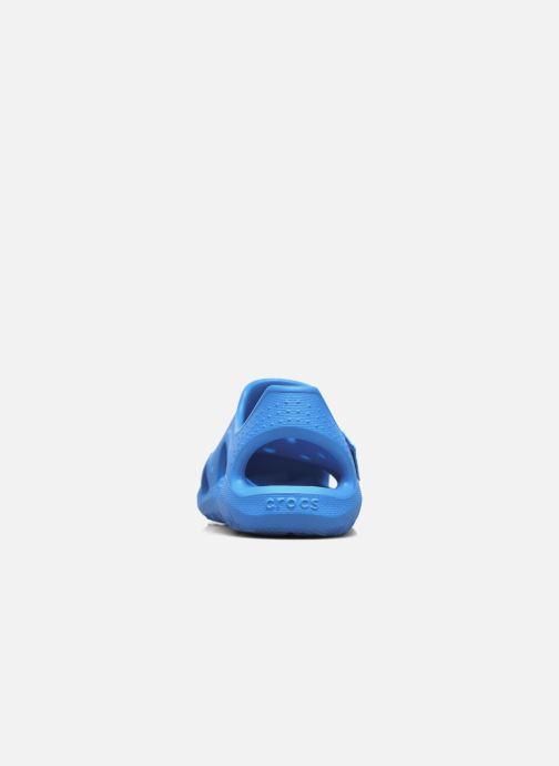 Sandales et nu-pieds Crocs Swiftwater Wave Kids Bleu vue droite