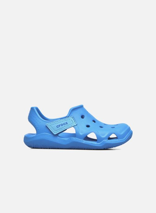 Sandali e scarpe aperte Crocs Swiftwater Wave Kids Azzurro immagine posteriore