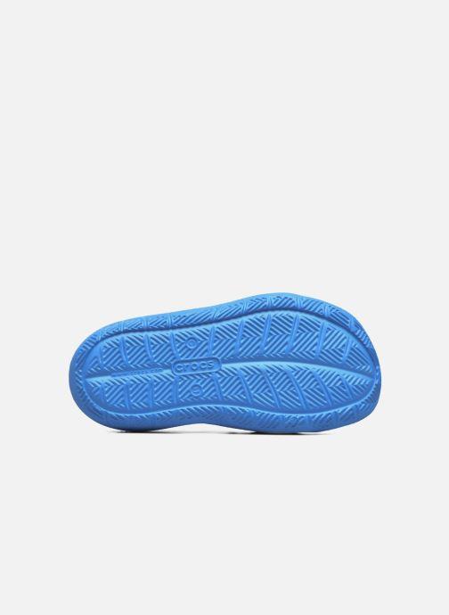Sandales et nu-pieds Crocs Swiftwater Wave Kids Bleu vue haut