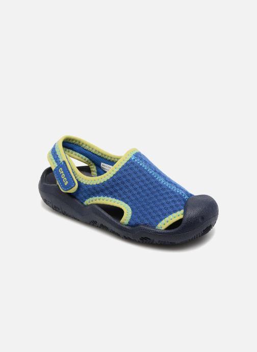 cabcacff1557f2 Crocs Swiftwater Sandal Kids (Blue) - Sandals chez Sarenza (312324)