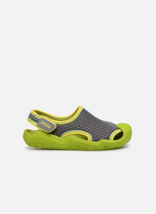 Sandalias Crocs Swiftwater Sandal Kids Verde vistra trasera