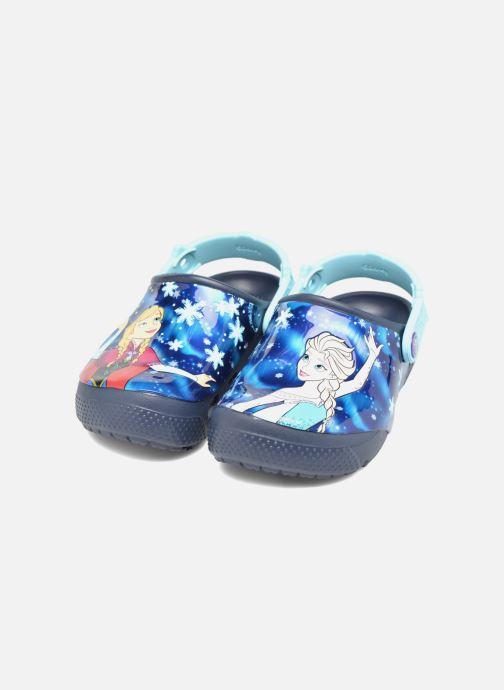 Sandales et nu-pieds Crocs Crocs Funlab Frozen Bleu vue 3/4