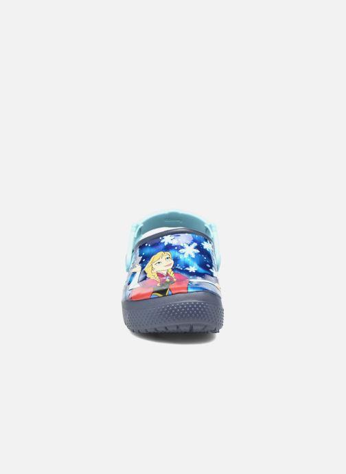 Sandales et nu-pieds Crocs Crocs Funlab Frozen Bleu vue portées chaussures