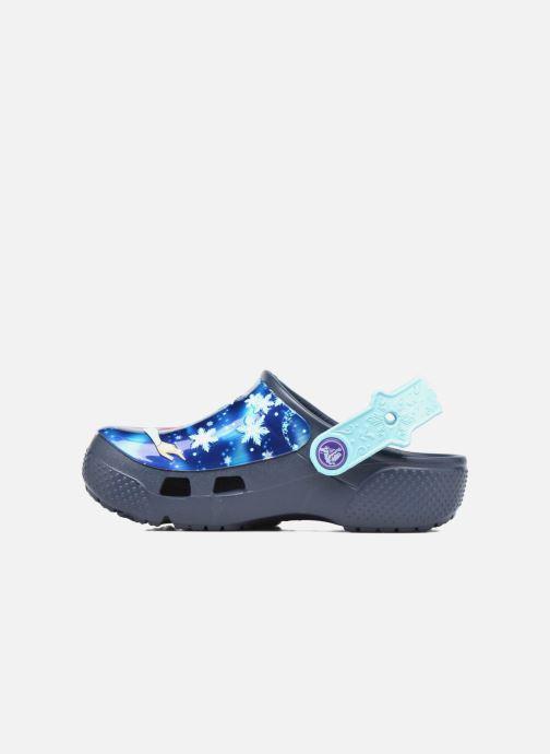 Sandales et nu-pieds Crocs Crocs Funlab Frozen Bleu vue face