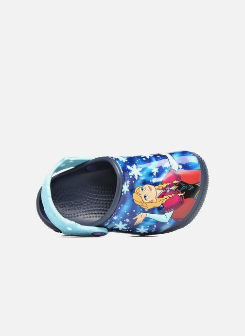 Sandales et nu-pieds Crocs Crocs Funlab Frozen Bleu vue gauche