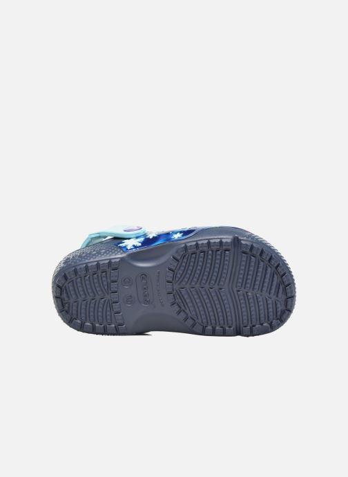Sandales et nu-pieds Crocs Crocs Funlab Frozen Bleu vue haut