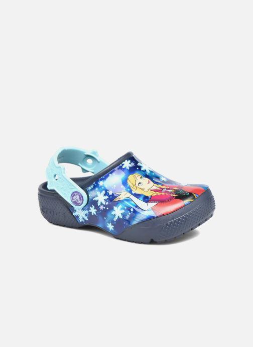 Sandales et nu-pieds Crocs Crocs Funlab Frozen Bleu vue détail/paire