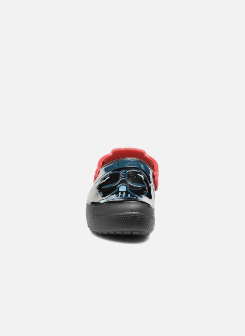 Sandales et nu-pieds Crocs Crocs Funlab Lights Darth Vader Noir vue portées chaussures