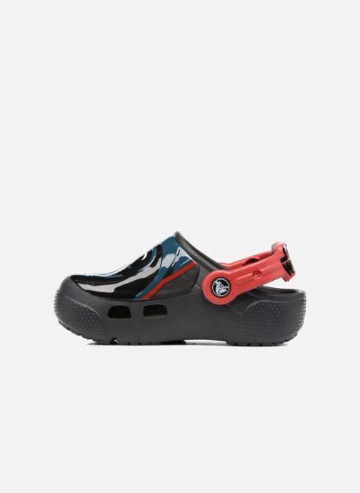 Sandales et nu-pieds Crocs Crocs Funlab Lights Darth Vader Noir vue face
