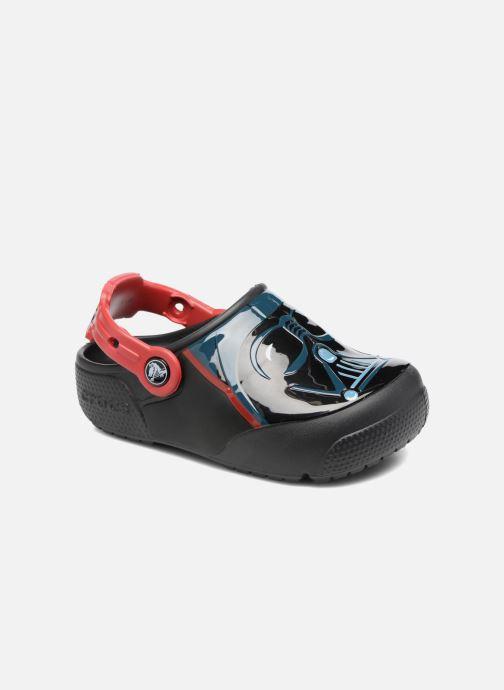 Sandales et nu-pieds Crocs Crocs Funlab Lights Darth Vader Noir vue détail/paire