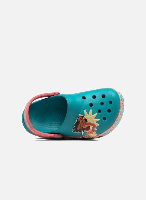 Sandales et nu-pieds Crocs Crocs Funlab Vaiana Clog LIGHTS Bleu vue gauche