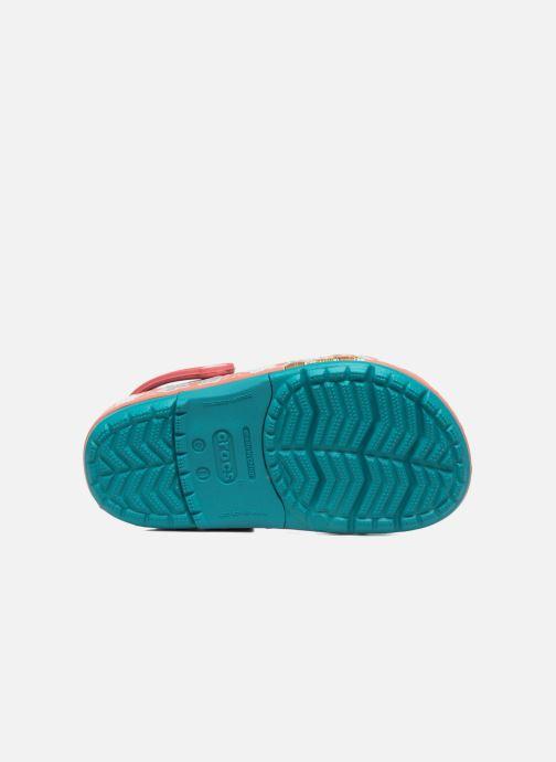Sandales et nu-pieds Crocs Crocs Funlab Vaiana Clog LIGHTS Bleu vue haut