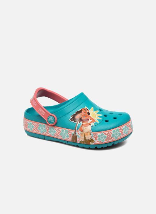Sandales et nu-pieds Crocs Crocs Funlab Vaiana Clog LIGHTS Bleu vue détail/paire