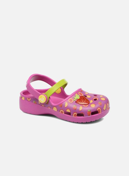 e636ce8a9 Sandals Crocs Crocs Karin Novelty Clog K Purple detailed view  Pair view