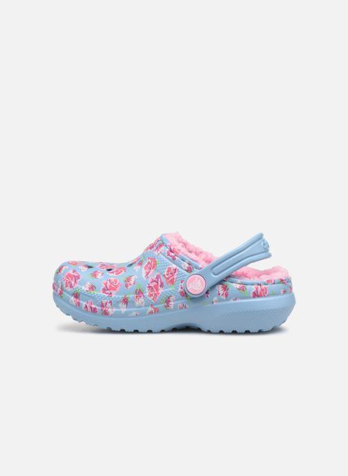 Sandales et nu-pieds Crocs Classic Clog Graphic Kids Bleu vue face