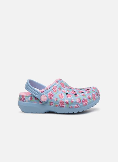 Sandaler Crocs Classic Clog Graphic Kids Blå bild från baksidan