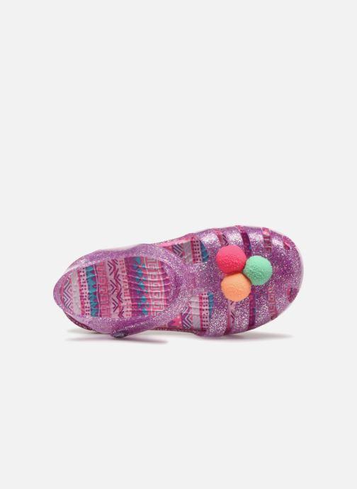 Sandalias Crocs Crocs Isabella Novelty Sandal PS Violeta      vista lateral izquierda