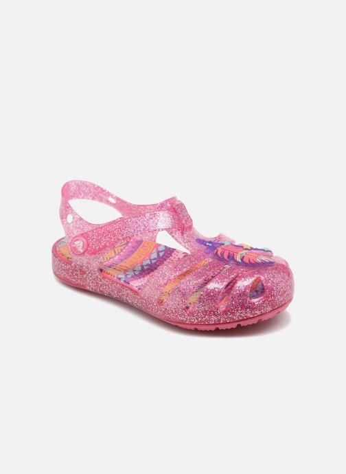 7d12577fc0f Sandales et nu-pieds Crocs Crocs Isabella Novelty Sandal PS Rose vue  détail paire