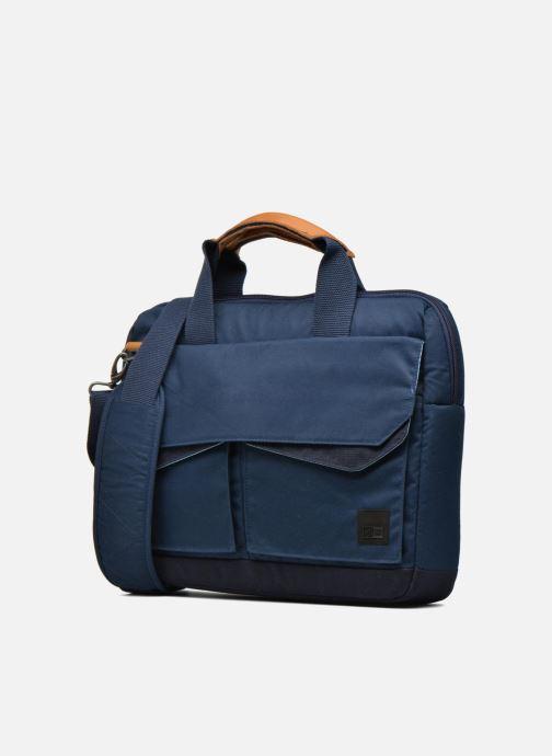 Laptoptaschen Case Logic Sacoche ordinateur 14'' blau schuhe getragen