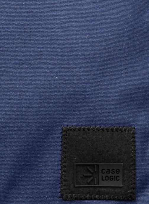 Sacs ordinateur Case Logic Sac à dos business 14'' Bleu vue gauche