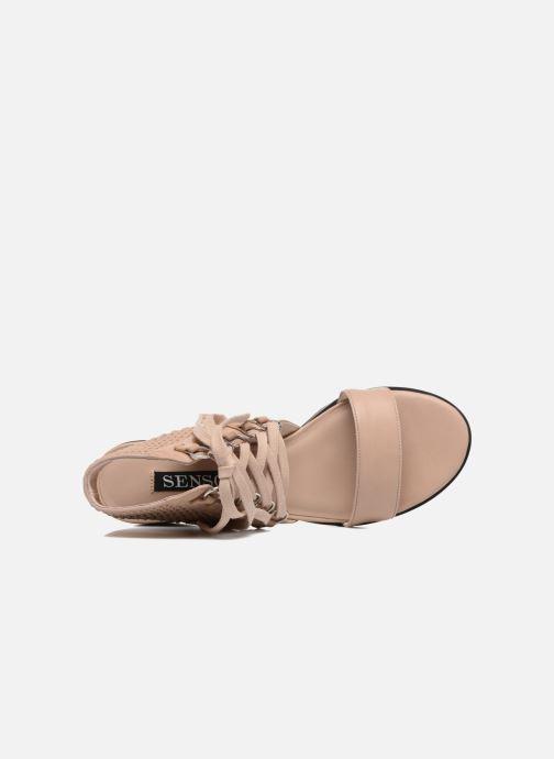 Sandales et nu-pieds SENSO Milo Marron vue gauche