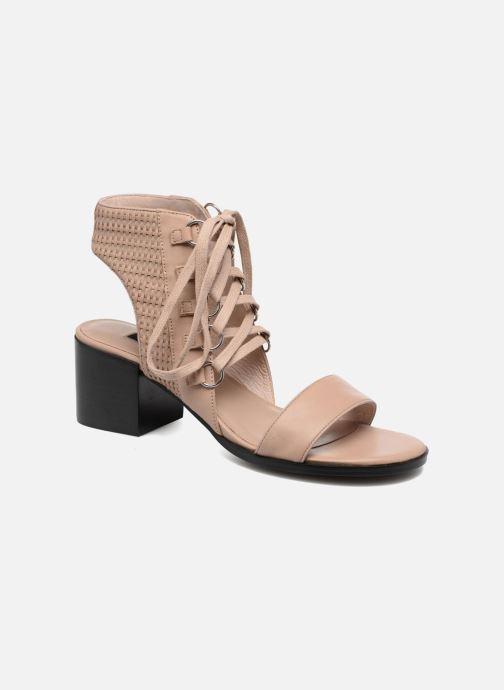 Sandales et nu-pieds SENSO Milo Marron vue détail/paire