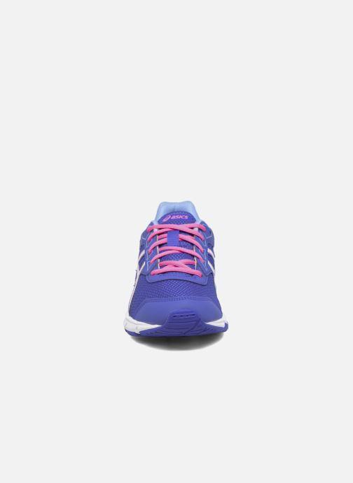 Sneaker Asics Gel Galaxy 9 GS blau schuhe getragen