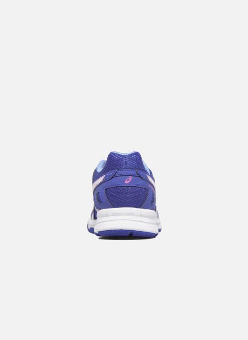 Baskets Asics Gel Galaxy 9 GS Bleu vue droite