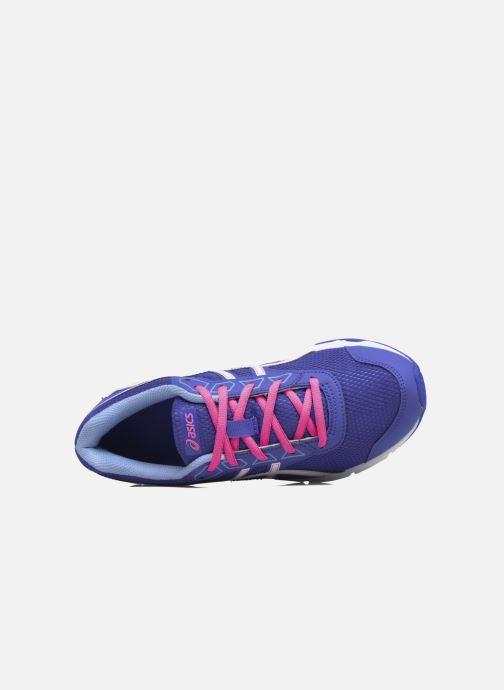 Sneaker Asics Gel Galaxy 9 GS blau ansicht von links