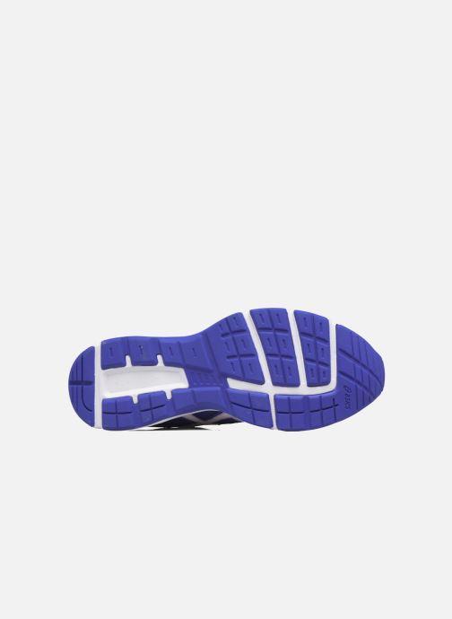 Baskets Asics Gel Galaxy 9 GS Bleu vue haut