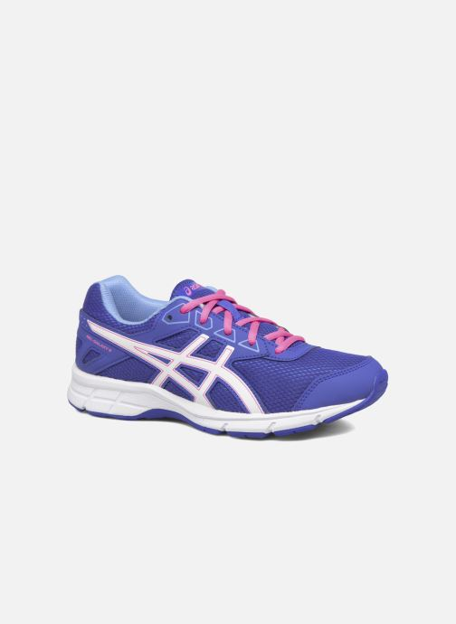 Trainers Asics Gel Galaxy 9 GS Blue detailed view/ Pair view