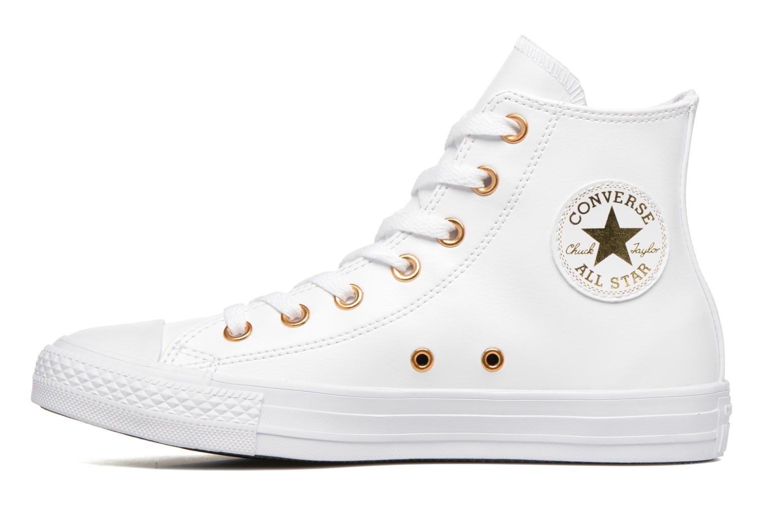 Deportivas Converse Chuck Taylor All Star Hi Craft SL Blanco vista de frente