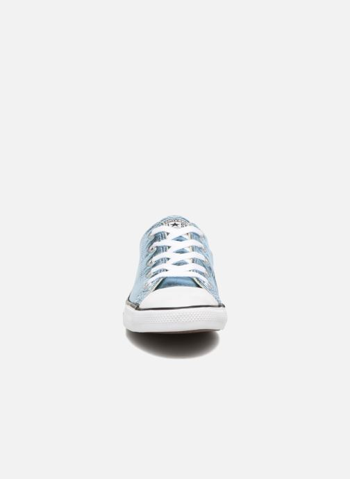 Trainers Converse Chuck Taylor All Star Dainty Ox Metallics Blue model view
