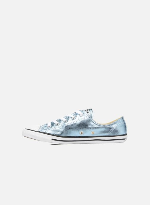Trainers Converse Chuck Taylor All Star Dainty Ox Metallics Blue front view