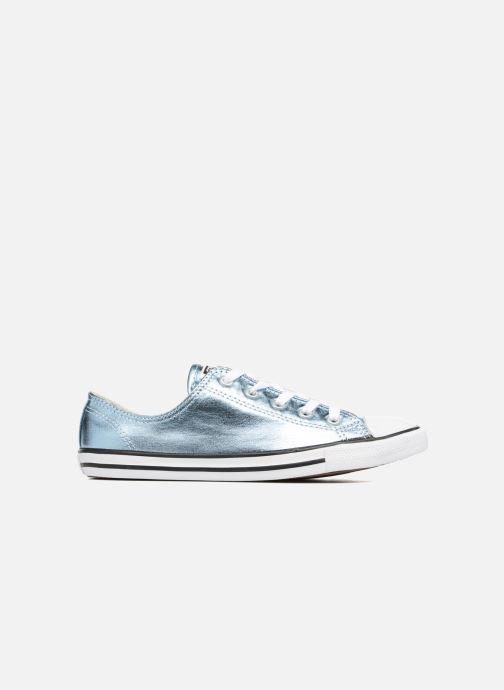 Trainers Converse Chuck Taylor All Star Dainty Ox Metallics Blue view from the right