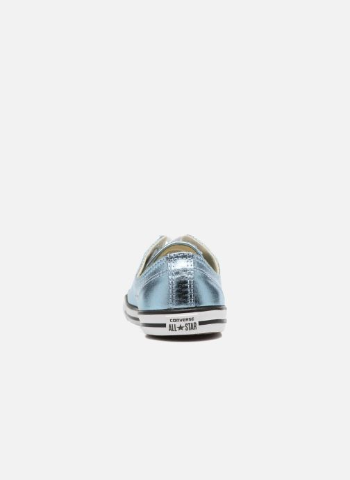 Trainers Converse Chuck Taylor All Star Dainty Ox Metallics Blue back view