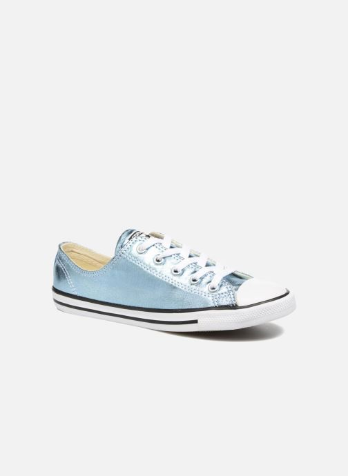 Trainers Converse Chuck Taylor All Star Dainty Ox Metallics Blue detailed view/ Pair view