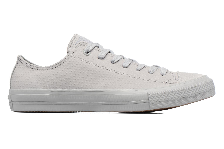 Sneakers Converse Chuck Taylor All Star II Ox Lux Leather Grigio immagine posteriore