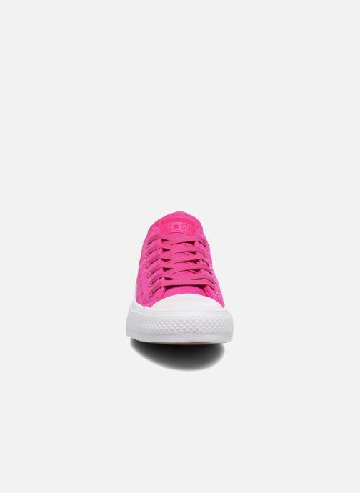 Sneakers Converse Chuck Taylor All Star II Ox Shield Lycra Pink se skoene på