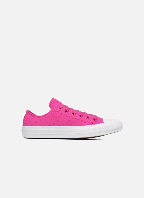 Sneakers Converse Chuck Taylor All Star II Ox Shield Lycra Rosa immagine posteriore