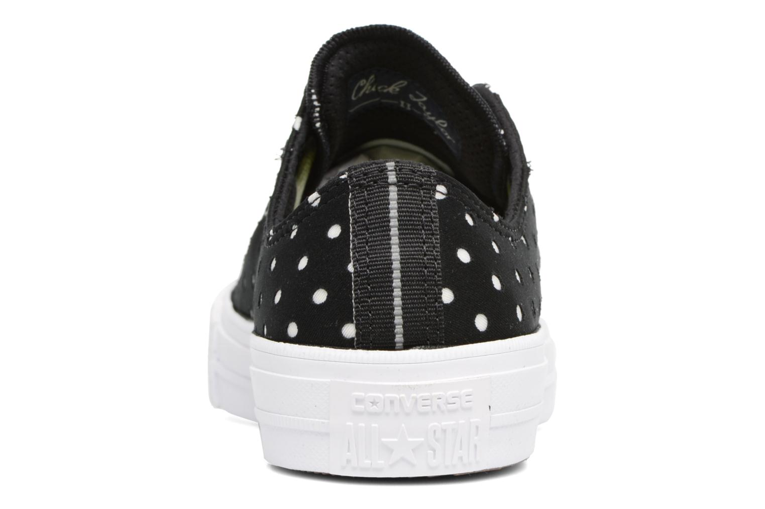 Sneakers Converse Chuck Taylor All Star II Ox Shield Lycra Nero immagine destra