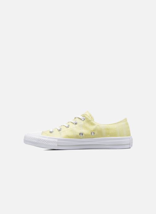 Trainers Converse Chuck Taylor All Star Gemma Ox Engineered Lace Yellow front view