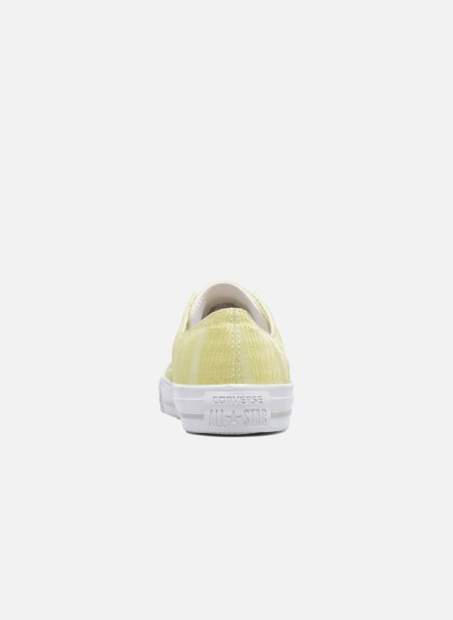 Trainers Converse Chuck Taylor All Star Gemma Ox Engineered Lace Yellow view from the right