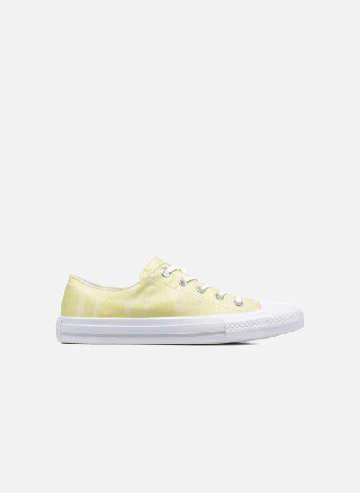 Trainers Converse Chuck Taylor All Star Gemma Ox Engineered Lace Yellow back view