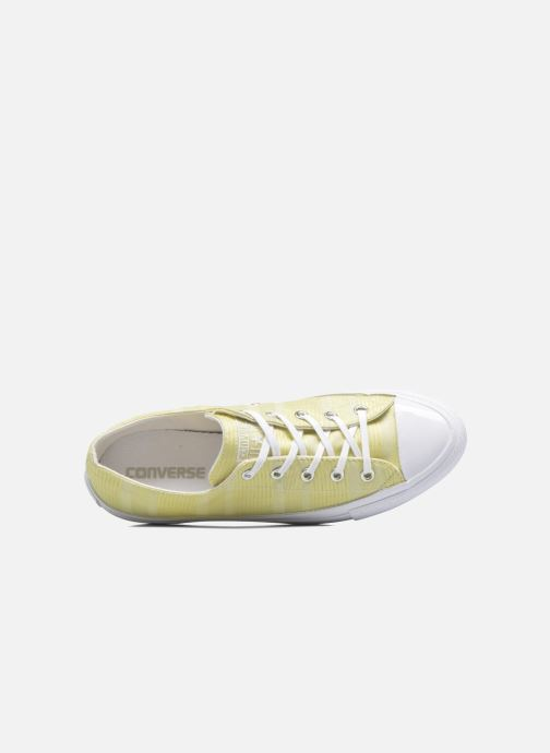 Trainers Converse Chuck Taylor All Star Gemma Ox Engineered Lace Yellow view from the left