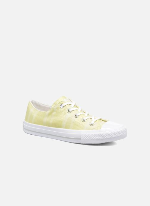 e3f51d308a50 Trainers Converse Chuck Taylor All Star Gemma Ox Engineered Lace Yellow  detailed view  Pair view